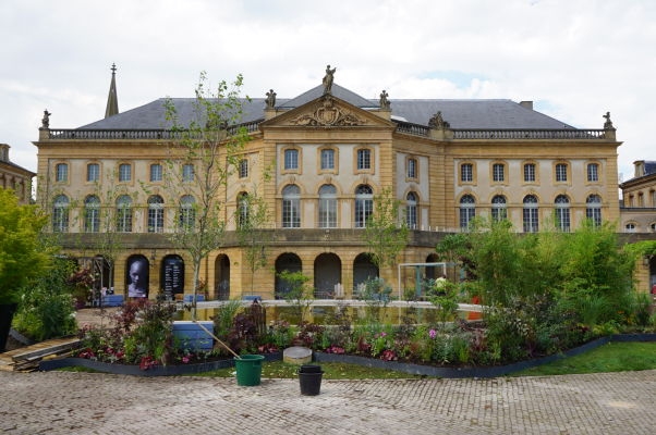 Metropolitná opera v Metz (Opéra-Théâtre de Metz Métropole) - najstarší operný dom vo Francúzsku