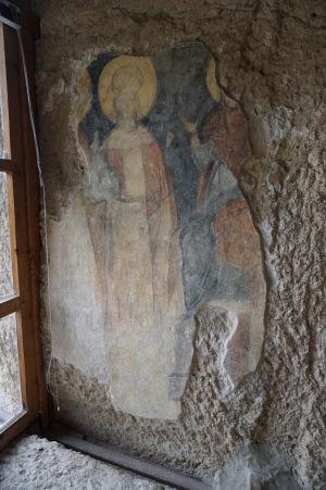 Freska v Chráme sv. Bohorodičky v Ivanove