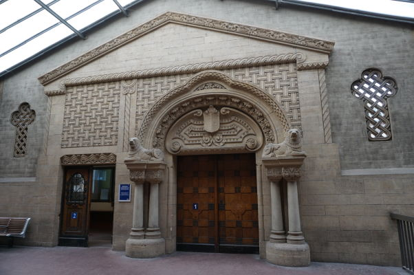 Útroby hlavnej vlakovej stanice v Metz