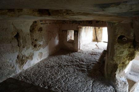 Chrám sv. Bohorodičky vytesaný v skale neďaleko Ivanova