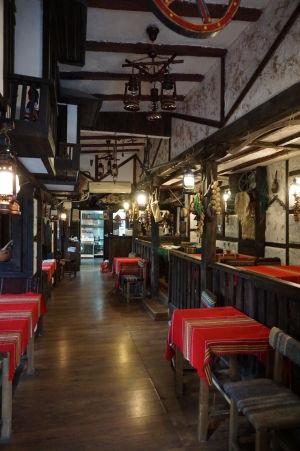 Reštaurácia hotela Kompleks Manastira v Ivanove