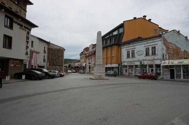 Námestie Velčova zavera vo Velikom Tarnove