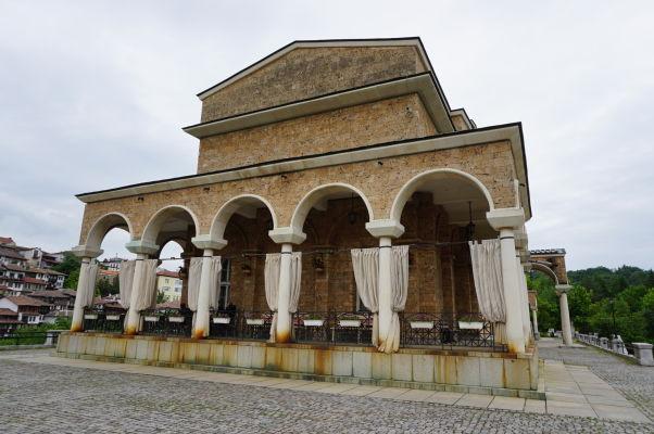 Sveta Gora - mestský park a poloostrov obklopený riekou Jantra - Štátna umelecká galéria vo Velikom Tarnove