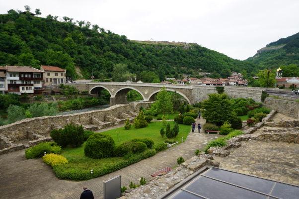 Malý park pri Kostole sv. 40 mučenníkov vo Velikom Tarnove