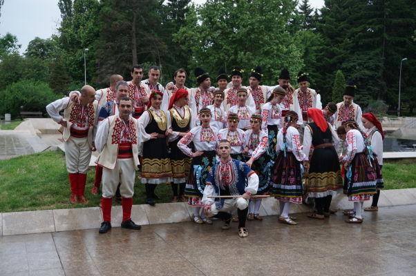 Folklórne vystúpenie vo Velikom Tarnove