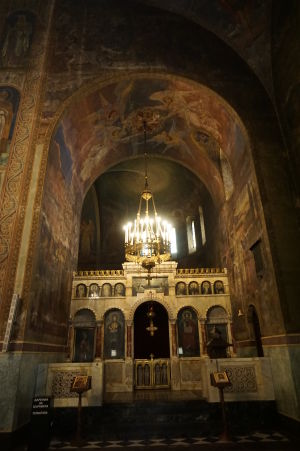 Katedrála Alexandra Nevského v Sofii - Jeden z bočných ikonostasov