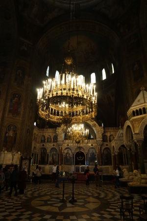 Katedrála Alexandra Nevského v Sofii - Hlavný ikonostas z mramoru