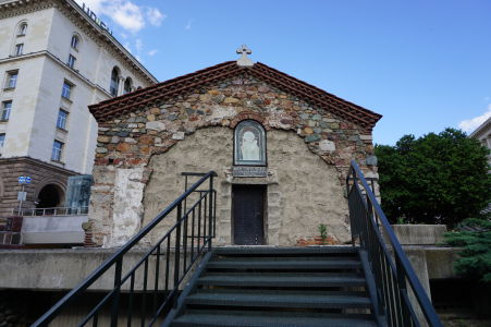 Stredoveký kostolík sv. Petka v Sofii