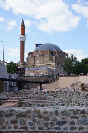 Mešita Banja Baši, jediná v Sofii