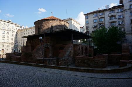 Rotunda sv. Juraja - Najstaršia budova v Sofii, pochádzajúca ešte z čias Rímskej ríše