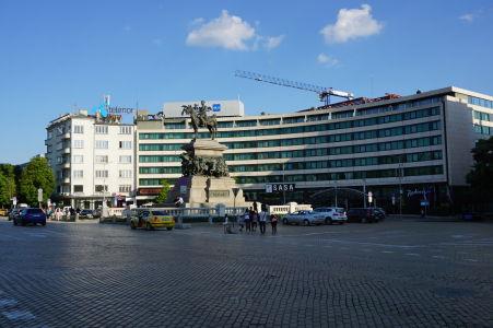 Námestie cára Osloboditeľa v Sofii