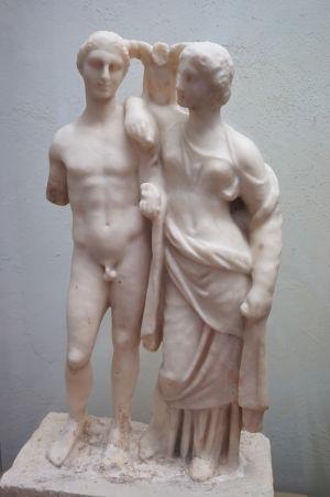 Mramorová socha v Národnom múzeu archeológie v Sofii