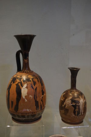 Grécke vázy - Národné múzeum archeológie v Sofii