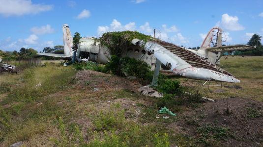 Vrak lietadla An-2