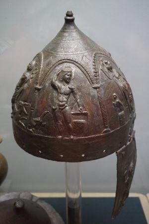 Bronzová helma - Národné múzeum archeológie v Sofii