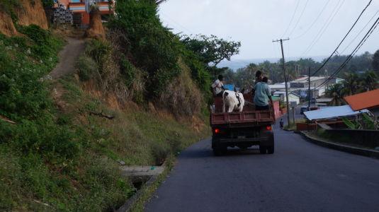 Transport na ostrove Svätý Vincent