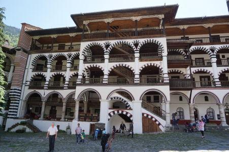 Kláštor v Rile - Rezidenčné priestory