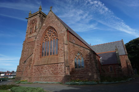 Katedrála sv. Germana v Peeli, ktorá nahradila katedrálu na hrade