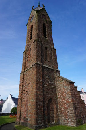 Ruiny Chrámu sv. Petra v Peeli - zvonica