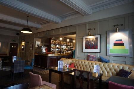 Reštaurácie a krčmy na ostrove Man majú typický britský dizajn