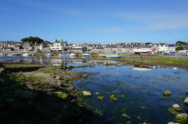 Záliv v mestečku Castletown na ostrove Man