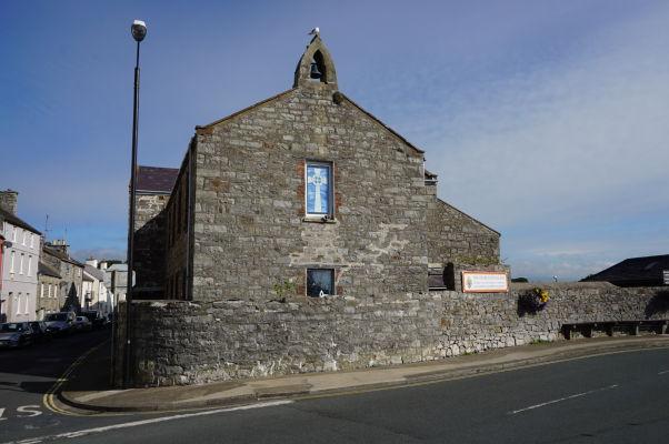 Kostolík anglikánskej cirkvi v Castletowne na ostrove Man