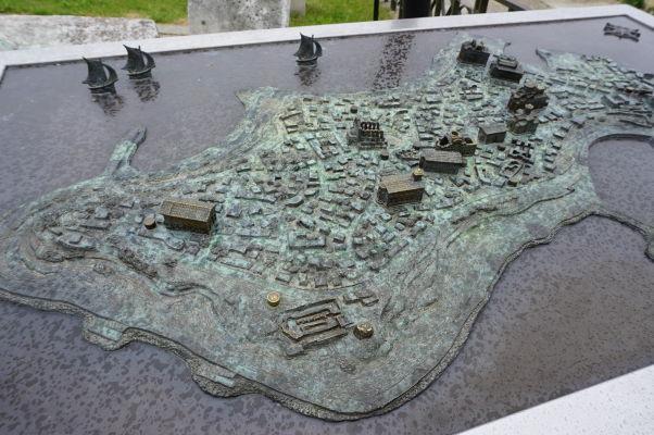 3D mapa Nesebaru
