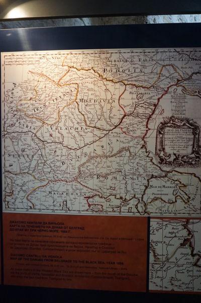 Výstava starých máp - Kostol Krista Pantokratora v Nesebare