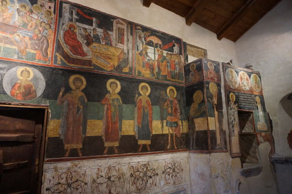 Fresky v Kostole sv. Spasiteľa v Nesebare