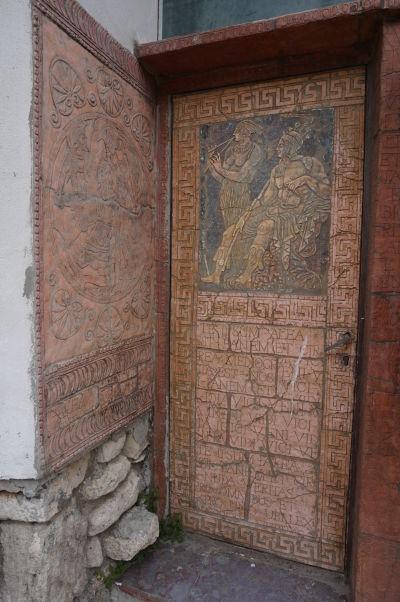 Byzantínske dekorácie v Nesebare