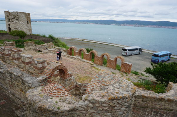 Pozostatky Kostola Matky Božej na brehu Nesebaru