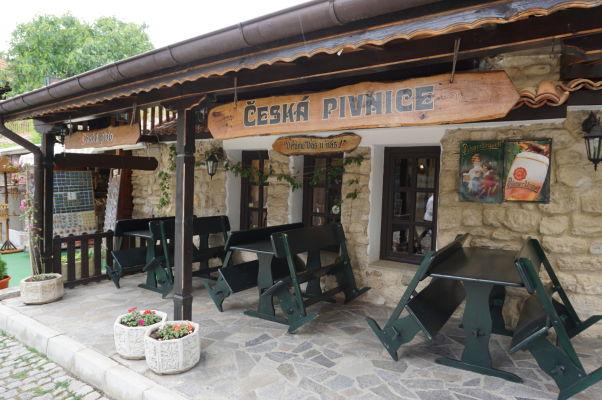 Jedna z českých reštaurácií v Nesebare