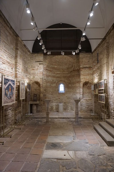 Galéria v Kostole sv. Paraskevy v Nesebare
