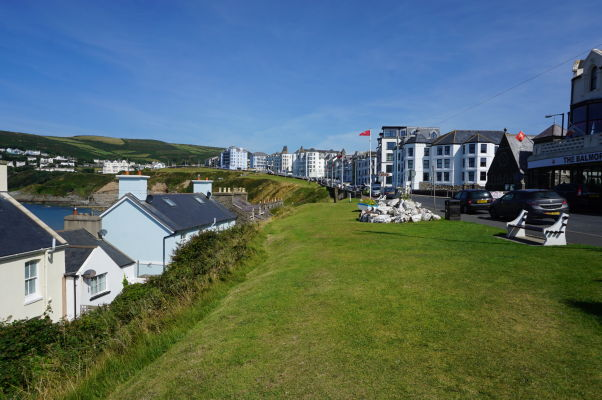 Mestečko Port Erin na ostrove Man