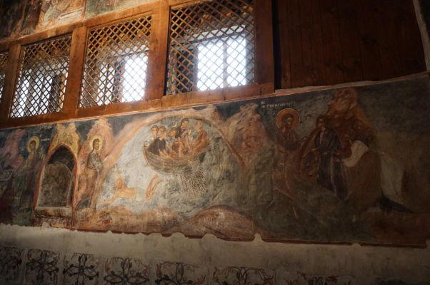 Fresky vyobrazujúce výjavy z života Ježiša v Kostole sv. Štefana v Nesebare