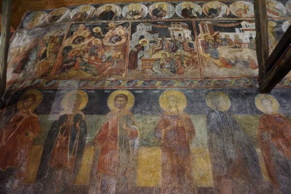 Fresky v Kostole sv. Štefana v Nesebare