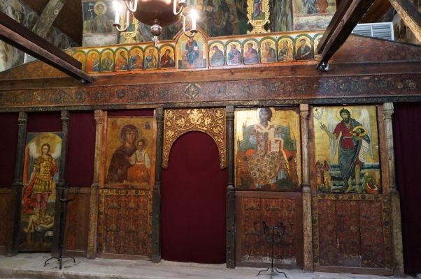 Ikonostas zo 16. storočia v Kostole sv. Štefana v Nesebare