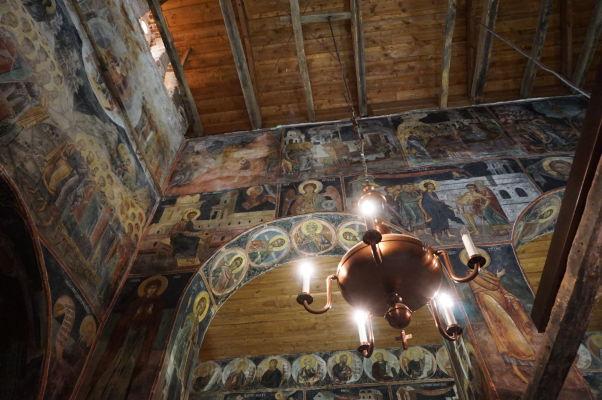 Freskami zdobené steny v Kostole sv. Štefana v Nesebare