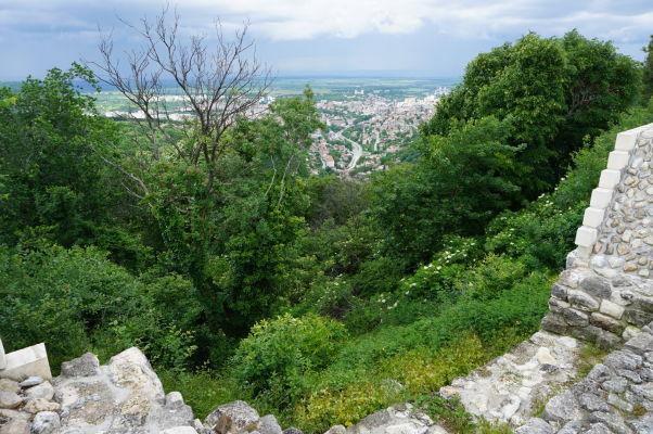 Pohľad na mesto Šumen z pevnosti
