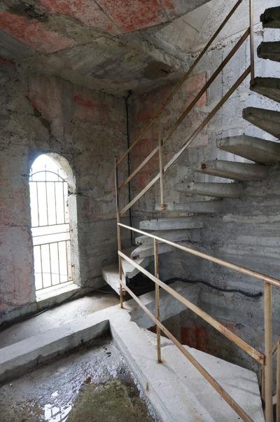 Útroby zrekonštruovanej veže Šumenskej pevnosti