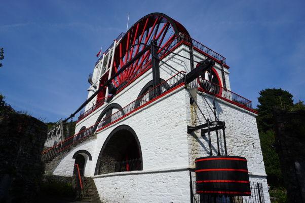 Najväčšie vodou poháňané kolo sveta Lady Isabella v Laxey na ostrove Man