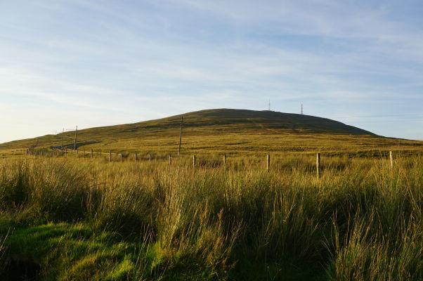 Snaefell - najvyššia hora ostrova Man