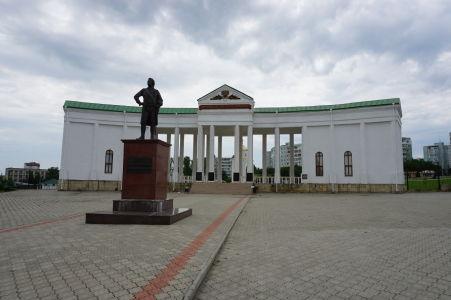 Vojenský cintorín a socha ruského dôstojníka Grigorija Potemkina