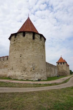 Jedna z veží pevnosti Bendery