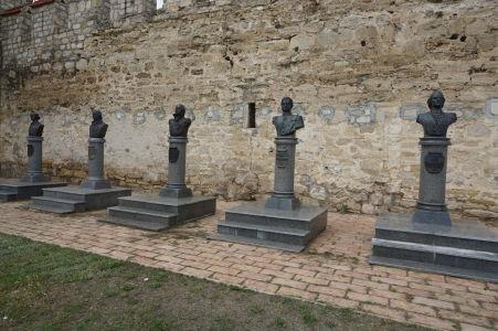 Busty ruských vojenských hrdinov