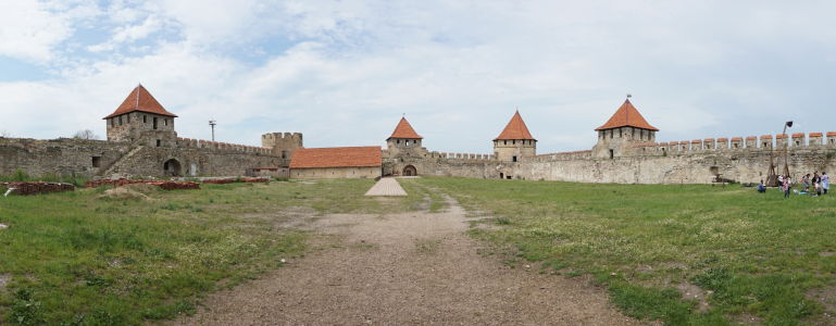 Nádvorie pevnosti v Bendery