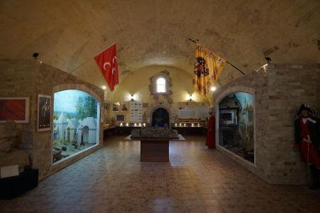 Malé múzeum histórie v pevnosti Bendery
