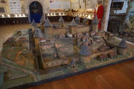Model pevnosti Bendery v časoch najväčšieho rozkvetu