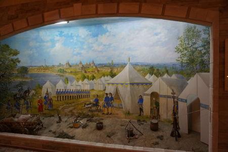 Ako mohol kedysi vyzerať vojenský tábor pri pevnosti