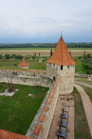 Výhľad z najvyššej veže pevnosti